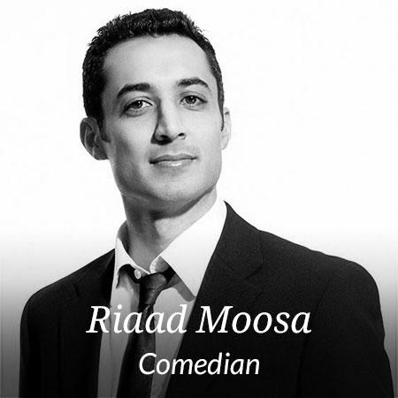 Riaad Moosa – Comedian